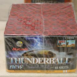 Fuego artificial Thunderball New 64