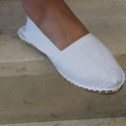 Espadrilles traditionnelles Blanches