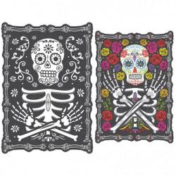 Imagen holográfica Día de los Muertos
