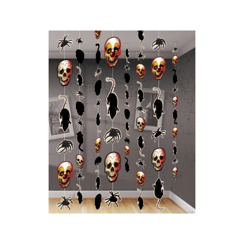 8 décorations Day of the Dead
