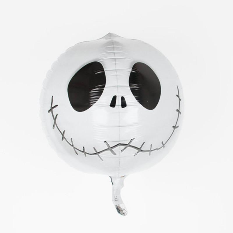 Ballon en aluminium Jack Skellington