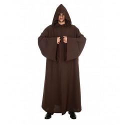 Capa marrón con capucha