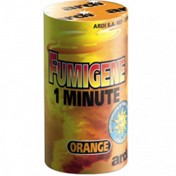 Fumigène orange 1mn