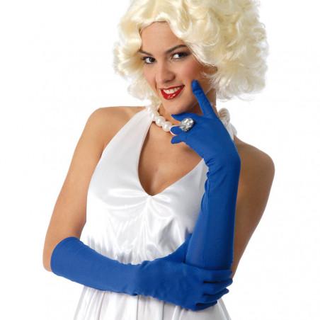 Gants bleu 45 cm