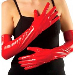 Gants rouges 45CM