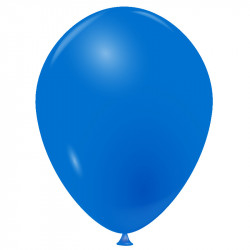 100 Ballons bleu