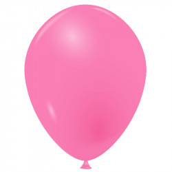 100 Ballons rose bonbon