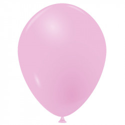 10 Ballons rose