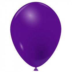 100 Ballons violet