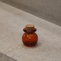 Fiole à dragees orange X10