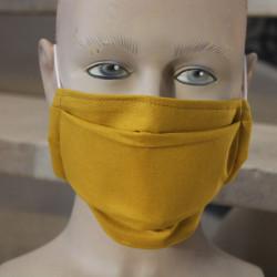 Masque hygiénique moutarde