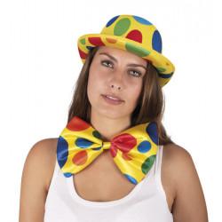 Noeud papillon clown